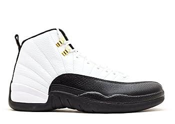 Jordan Air 12 Retro Taxi Men s Basketball Shoes White/Black-Taxi-Varsity Red 130690-125  12 D M  US