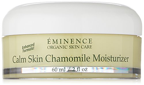 Eminence Organic Skincare Calm Skin Moisturizer for Sensitive Skin, Chamomile, 2 Fluid Ounce (2252/Em)