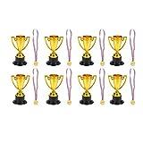 STOBOK Le Medaglie dei Trofei Fissano Ai Bambini La Coppa del Trofeo Doro E Le Medaglie Vi...