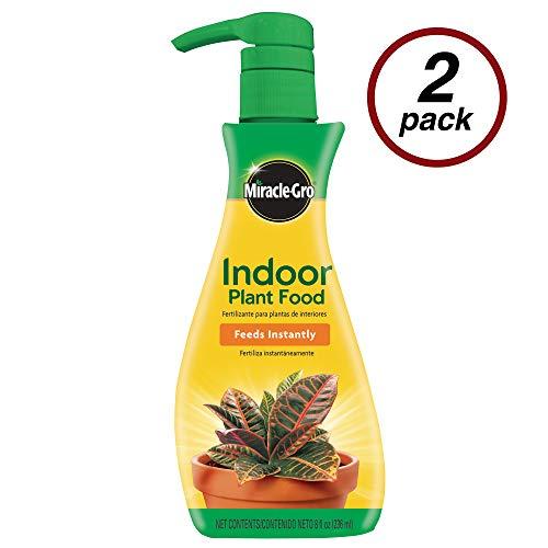 MiracleGro VB300526 Plant Food Liquid 8 oz Feeds All Indoor HouseplantsIncluding EdiblesInstantly 2 Pack