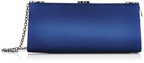 MENBUR Damen Paxton Clutches, Blau (Midnight Blue 21), 25x13x5 cm