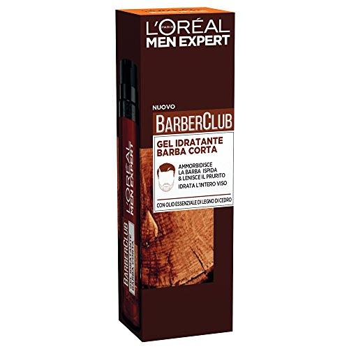 L'Oréal Paris Men Expert, línea Barber Club - Producto para el cuidado de la barba gel hidratante, barba corta