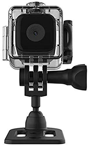 Mini cámara de acción Full HD 1080P Mini impermeable deportes interior y exterior DV sin luz visión nocturna cámara subacuática adecuada para drones de juguete carreras de deportes al aire libre
