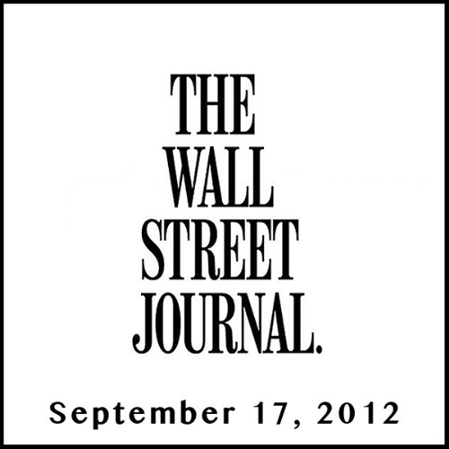 The Morning Read from The Wall Street Journal, September 17, 2012 copertina