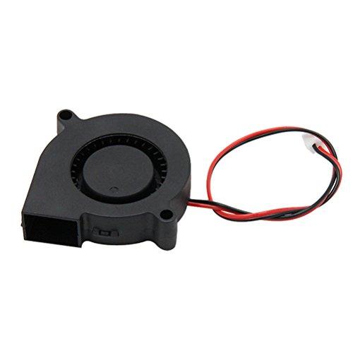 UEETEK Ventola senza spazzole DC 12V 0.23A Ventola di raffreddamento per accessori per stampanti 3D