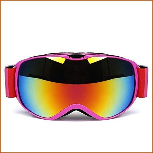 Generieke skibril voor brildragerskibril kinderen Uv400 anti-mist sferische dubbele lens kinderen snowboard skibril sneeuwas snowboard bril uitrusting