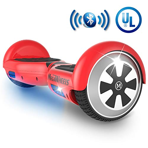 MEGAWHEELS Hoverboard - UL Certified Self Balancing Hover Board with Bluetooth...
