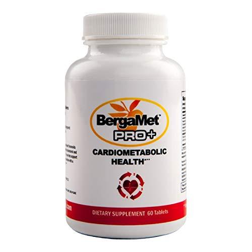 BergaMet - Pro+ Cholesterin und Stoffwechsel Unterstützung - Cardiometabolic Health - Vegetarisch und Glutenfrei - 60 Tabletten