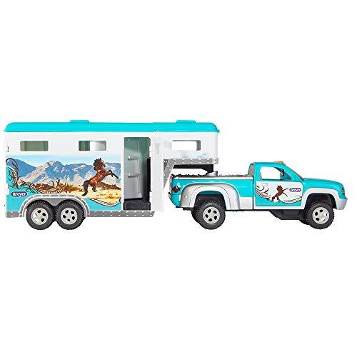 Breyer Stablemates Truck & Gooseneck Trailer Horse Toy | 14