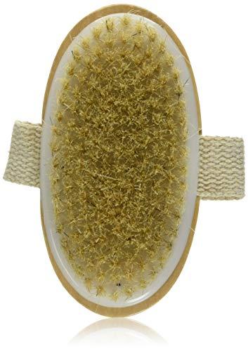 Fantasea Brosse à poils naturels pour le corps - Pour exfolier la peau et activer la circulation - Pour une peau éclatante de santé