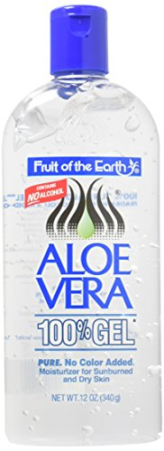 (2 Pack) - Fruit Of the Earth - Aloe Vera Gel | 12 ounce | 2 PACK BUNDLE