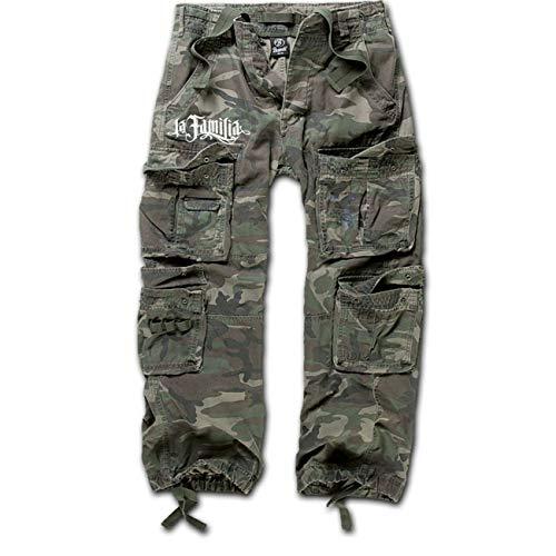 Spaß kostet Männer und Herren Marken Armee Hose lang LA Familia Größe S bis 7XL