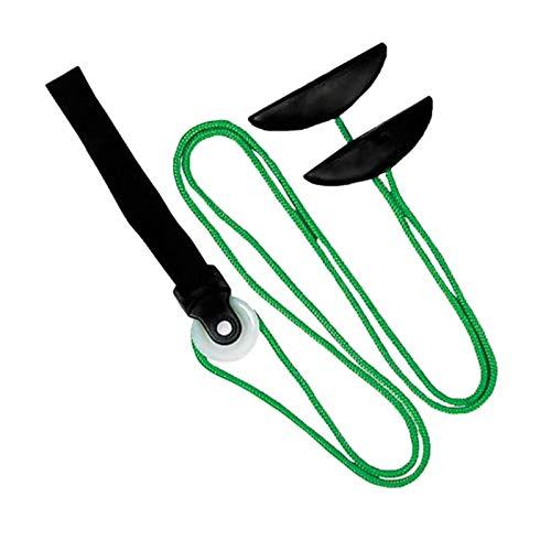Corda Per Riabilitazione Spalle,Carrucola Per Esercizi Per Le Spalle, Puleggia per Esercizi Durevole Per La Prevenzione Degli Infortuni Con Ancoraggio Per Porta E Maniglie A Tacca Regolabili (Verde)
