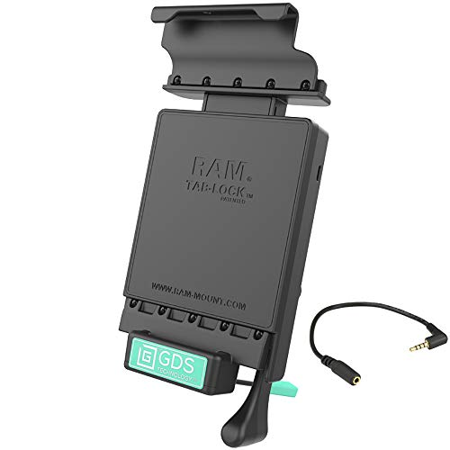 RAM Mount GDS Locking Vehicle Dock with Audio Jumper Cable for Samsung Galaxy Tab E 8.0
