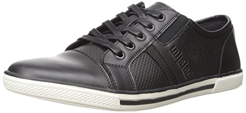 Unlisted by Kenneth Cole Men's Shiny Crown Fashion Sneaker, Black, 10 M US