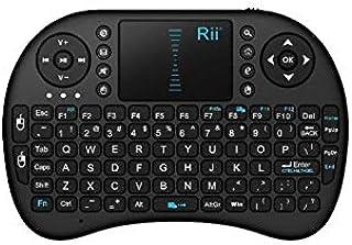 ري I8 لوحة مفاتيح مصغرة لاسلكية لاجهزة اندرويد