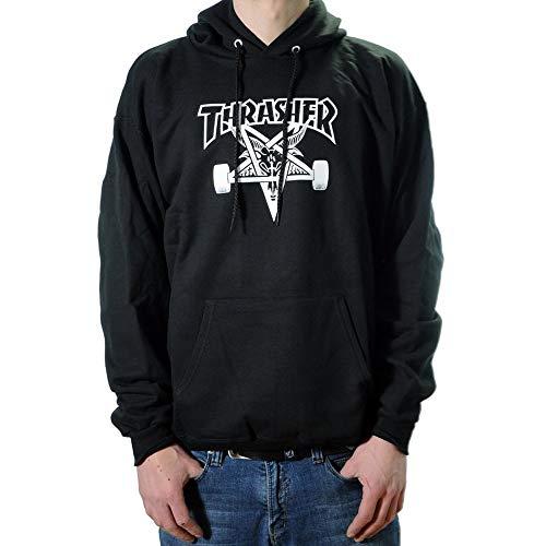 Thrasher Skategoat black Hooded Size L