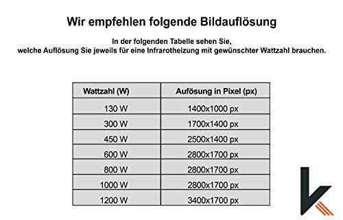 Eigenes Bild & Foto Infrarot Heizung mit TÜV vom Deutschen Hersteller mit 5 Jahren Bild 3*