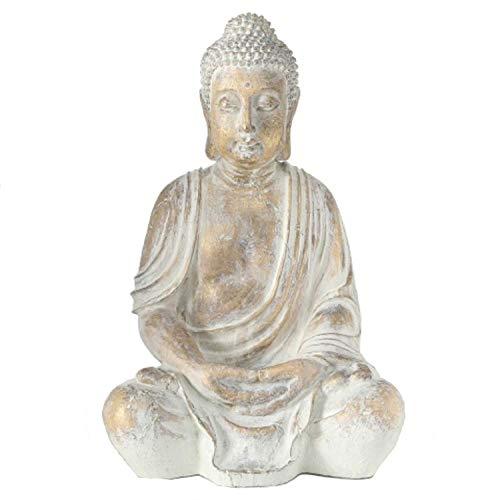 Home Collection Hogar Decoraciones Accesorios Escultura Estatua Sentado Buda H 67 cm