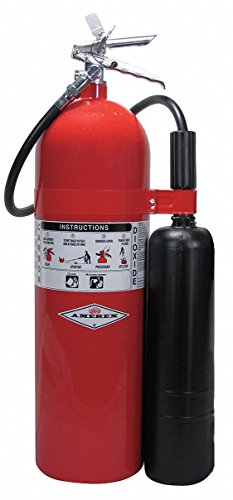 Amerex - Carbon Dioxide Fire Extinguisher - 15 Lbs