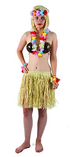 P'tit Clown 52416 Kit Hawaïen Multi- Collier - Bandeau - 2 Bracelets - Fleurs - Multicolore