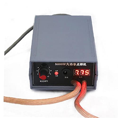 Batería soldadora por puntos kit 5000W de alta potencia del punto Soldador portátil ajustable del punto máquina de soldar empresa de hardware para la Industria