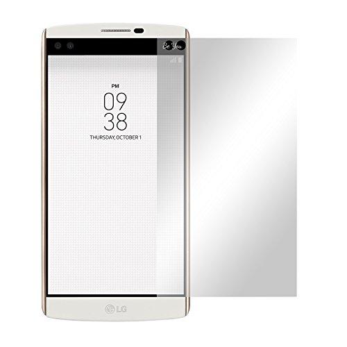 Preisvergleich Produktbild Slabo 2 x Displayfolie für LG V10 Displayschutzfolie Zubehör Crystal Clear KLAR