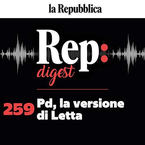 Pd, la versione di Letta copertina