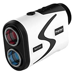 【Excellent Golf Rangefinder with Slope Adjustment】Built-in slope technology gives you an adjusted distance based on the hole's incline/decline and helps you select the correct club for the shot. Power up your game! And never second-guess the distance...