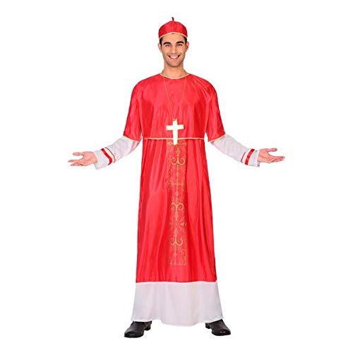 Atosa 64804 Disfraz Cardenal XL Hombre Rojo