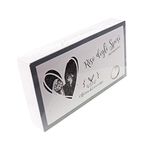 Officina del Cioccolato Riso per Gli Sposi Bianco Antimacchia 1 kg per Matrimonio