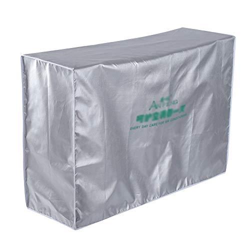 Fenster Klimaanlagen Abdeckung Anti Staub Anti Schnee wasserdichte Sunproof Klimaanlage im Freien schützt Abdeckung mit Riegel Seil und Multi-Size Optional(3p (92 * 35 * 69))