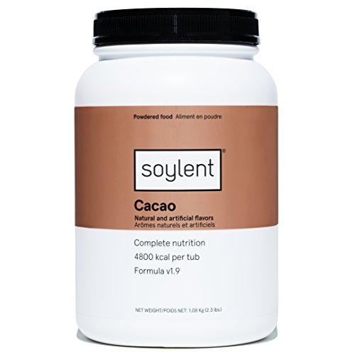 Soylent Meal Replacement Powder, Cacao, 36.8 Ounce (Pack of 1)