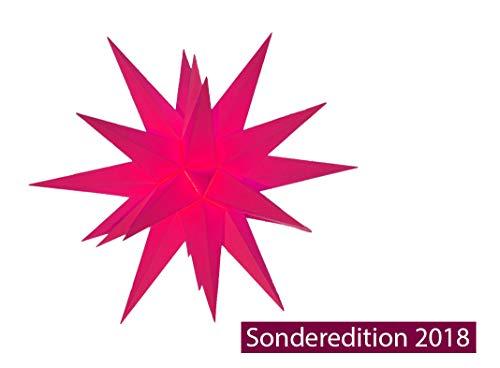 Sonderedition 2018 Herrnhuter Sterne A1e Magenta