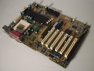 ASUS CUBX Mainboard Intel Sockel 370