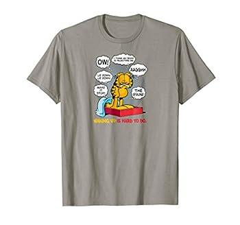 Garfield Waking Up Is Hard To Do T Shirt
