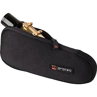 Baritone Saxophone Neoprene Mouthpiece Pouch with Zipper Closure - Black, Model N277 (B076MS3W63) | Amazon price tracker / tracking, Amazon price history charts, Amazon price watches, Amazon price drop alerts