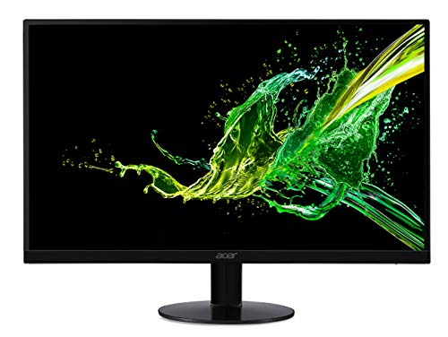 Acer SA0 SA270Abi LED Display 68, 6 cm (27 Zoll) Full HD – Flachbildschirm (68, 6 cm (27 Zoll), 1920 x 1080 Pixel, Full HD, LED, 4 ms, schwarz)