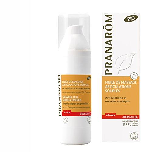 Pranarôm Aromalgic Huile de Massage Articulations Souples Bio Eco