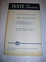 Pro Archia poeta: Ein Zeugnis für den Kampf des Geistes um seine Anerkennung (Texte zur Forschung) (German Edition)