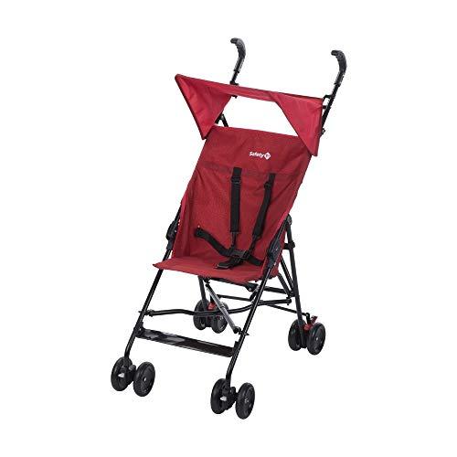 Safety 1st Peps Passeggino Ultra Compatto e Leggero, Chiusura Ombrello, con Capottina, Pieghevole da Viaggio, Ribbon Red Chic