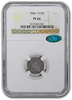 1846 half dime