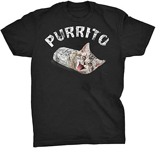 Vintage Purrito Shirt Cat T Shirt Kitty Mexican Food...