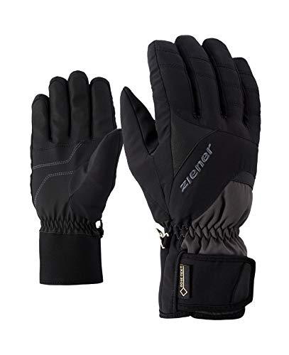 Ziener Erwachsene GUFFERT GTX Glove Alpine Ski-Handschuhe/Wintersport   Wasserdicht, Atmungsaktiv, Graphite/Black, 10