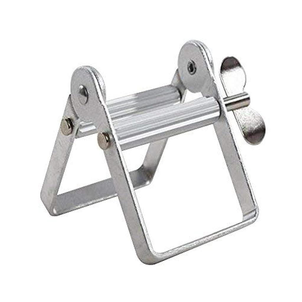 シャックルランチ壊すチューブ絞り器 チューブリンガー 軟膏押出器 アルミ製 歯磨き粉 絵の具 接着剤 洗面道具 便利 人気