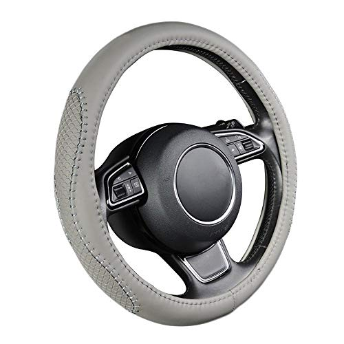 Steering Wheel Cover Auto Steering Wheel Case Protector Universal 38cm for in de auto PU Leather Auto Accessories