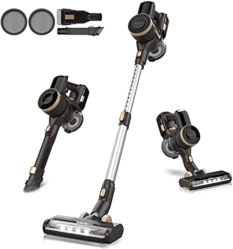 ORFELD Cordless Vacuum Cleaner,45 mins Runtime, Stick Vacuum 4 in 1 for Pet Hair Hard Floor, Detachable Battery,CX11A