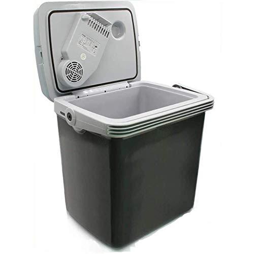 Koelkast met grote capaciteit, stille desktop minibar 25 l draagbare mini-vrieskast voor thuis, kantoor, auto of boot AC en DC (kleur: C)