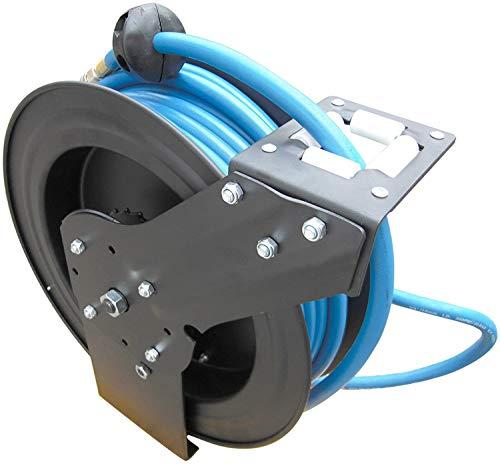 Automatischer Druckluftschlauch-Aufroller Profi 3/8'' Extra stark, 15 m lang, Ø17 mm