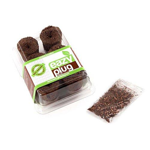 Mini serre de germination avec cubes de propagation Eazy Seed Plug (6x)
